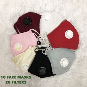 Accessories - 💥DEAL💥10 Face Covers washable and 20 Filters